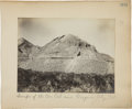 Photography, [Nevada Mining]. Photograph of Mining Dump Site by Tibbitts, circa 1908....