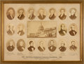 Miscellaneous:Ephemera, 1876 Presidential Centennial Exposition Broadside....
