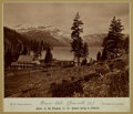 Photography:Cabinet Photos, [Western Expansion]. Photograph of Donner Lake, Truckee,California....