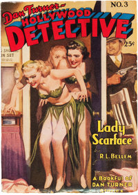 Dan Turner - Hollywood Detective #3 (Culture, 1942) Condition: VG/FN