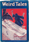 Pulps:Horror, Weird Tales - September 1925 (Popular Fiction, 1925) Condition:VG+....