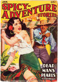 Pulps:Adventure, Spicy Adventure Stories - January 1937 (Culture, 1937) Condition: FN-....