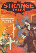 Pulps:Horror, Strange Tales V3#1 (Clayton, 1933) Condition: FN-....