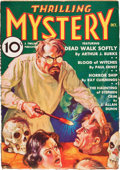 Pulps:Horror, Thrilling Mystery V1#1 (Standard, 1935) Condition: VG+....