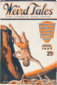 Weird Tales - April 1925 (Popular Fiction, 1925) Condition: VG-