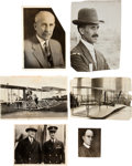 Transportation:Aviation, Wright Brothers: Eight Photographs.... (Total: 8 Items)