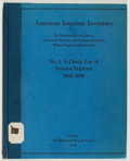 Books:Books about Books, [Douglas C. McMurtrie]. American Imprints Inventory. No 3. A Check List of Arizona Imprints 1860-1890....