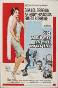 """Movie Posters:Drama, Go Naked in the World (MGM, 1961). One Sheet (27"""" X 41""""). Drama.. ..."""