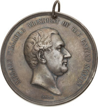 Millard Fillmore Indian Peace Medal