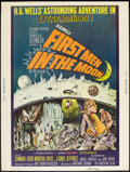 "Movie Posters:Science Fiction, First Men in the Moon (Columbia, 1964). Poster (30"" X 40""). ScienceFiction.. ..."