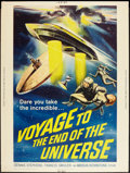 "Movie Posters:Science Fiction, Voyage to the End of the Universe (American International, 1964).Poster (30"" X 40""). Science Fiction.. ..."