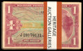Military Payment Certificates:Series 641, Series 641 $1 Fifty-one Examples Very Good or Better.. ... (Total:51 notes)