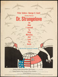"Movie Posters:Comedy, Dr. Strangelove or: How I Learned to Stop Worrying and Love theBomb (Columbia, 1964). Poster (30"" X 40""). Comedy.. ..."