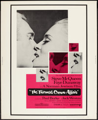 "The Thomas Crown Affair (United Artists, 1968). Poster (30"" X 40""). Crime"