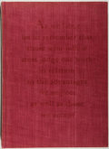 Books:Books about Books, Douglas McMurtrie. LIMITED. Early Printing in Wisconsin.With a Bibliography of the Issues of the Press 1833-1850...