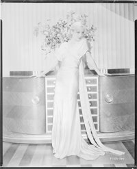 "Carole Lombard (Paramount, 1930s). AGFA Nitrate Negative (7.5"" X 9.5""). Miscellaneous"