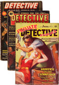 Pulps:Detective, Assorted Detective Pulps Group (Various, 1937-41).... (Total: 3Items)