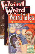 Pulps:Horror, Weird Tales Group (Popular Fiction, 1932-38) Condition: AverageVG/FN.... (Total: 5 Comic Books)