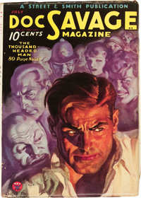 Doc Savage - July 1934 (Street & Smith, 1934) Condition: FN