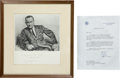 Autographs:U.S. Presidents, Lyndon B. Johnson: Signed Presentation Photo and Letter....