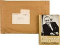 Autographs:U.S. Presidents, Lyndon B. Johnson: Signed Presentation Campaign Book....