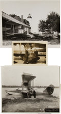 Transportation:Aviation, Glenn Curtiss: Press Photos.... (Total: 3 Items)