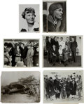 Transportation:Aviation, Amelia Earhart: Six Press Photos.... (Total: 6 Items)