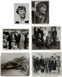Amelia Earhart: Six Press Photos