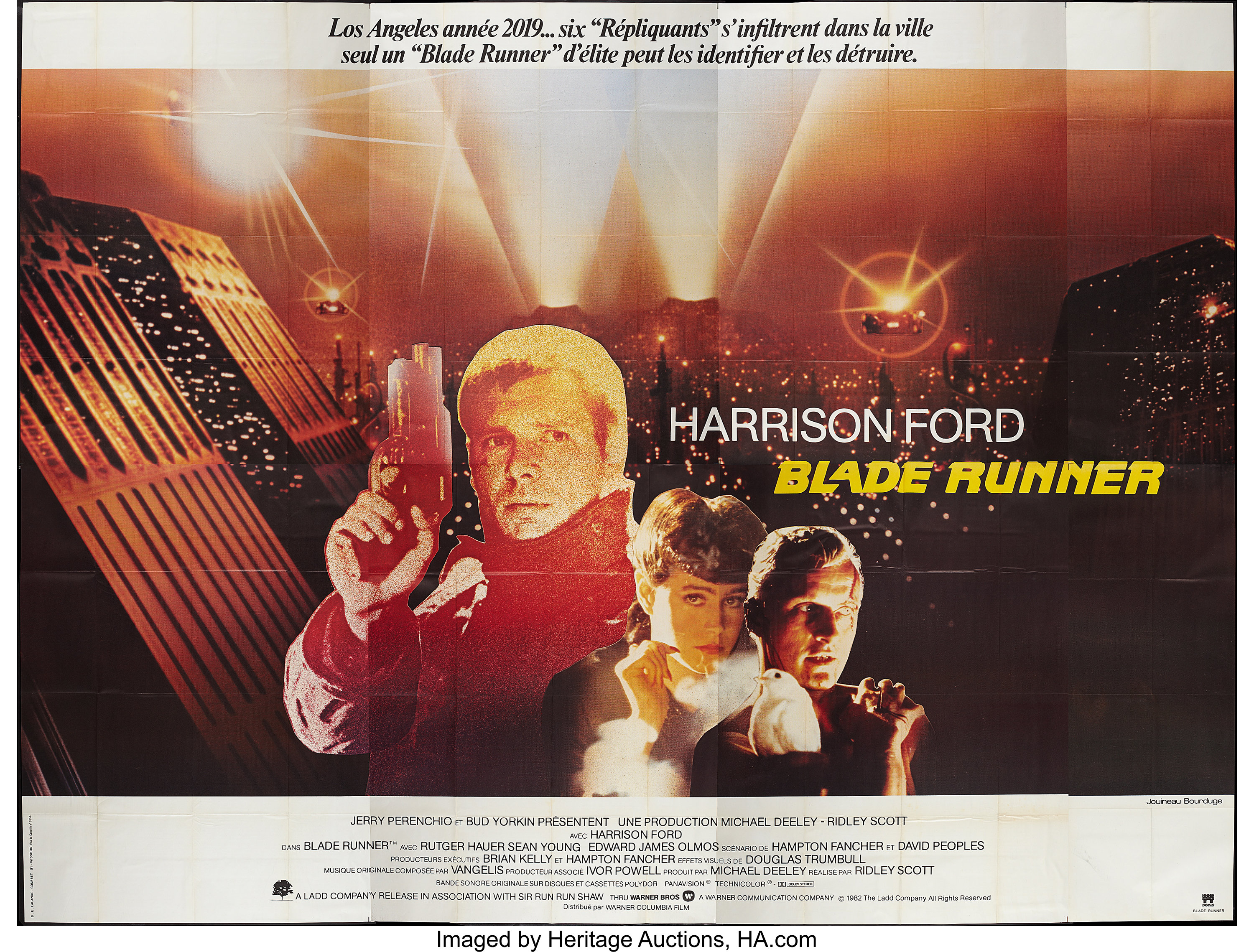 Sean Young Blade Runner Minimalist Movie Poster Rutger Hauer Harrison Ford