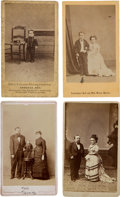 Entertainment Collectibles:Circus, P. T. Barnum: Photos and Optical Toy....