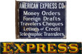 Advertising:Signs, Enamel Express Company Signs.... (Total: 2 Items)