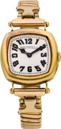 Timepieces:Wristwatch, Patek Philippe & Co. Early Gold Presentation Wristwatch, circa1905. ...