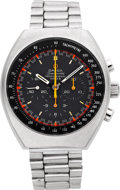 Timepieces:Wristwatch, Omega Speedmaster Professional Mark II Chronograph. ...
