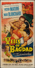 "Movie Posters:Action, The Veils of Bagdad (Universal International, 1953). Three Sheet(41"" X 81""). Action.. ..."
