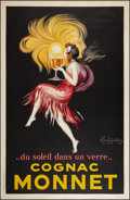 "Movie Posters:Miscellaneous, Cognac Monnet Advertising Poster (1927). French Grande (51"" X79.5""). Miscellaneous.. ..."