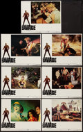 "Movie Posters:Adventure, Doc Savage: The Man of Bronze (Warner Brothers, 1975). Lobby Cards(7) (11"" X 14""). Adventure.. ... (Total: 7 Items)"