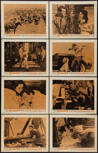 """Giant (Warner Brothers, R-1963). Lobby Card Set of 8 (11"""" X 14""""). Drama. ... (Total: 8 Items)"""