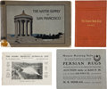 Miscellaneous:Booklets, Lot of Four California Booklets... (Total: 4 Items)