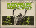 "Movie Posters:Adventure, Hercules in the Haunted World (Woolner Brothers, 1964). Half Sheet(22"" X 28""). Adventure.. ..."