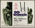 "Movie Posters:Bad Girl, 99 Women (Commonwealth United, 1968). Half Sheet (22"" X 28""). BadGirl.. ..."