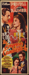 """Movie Posters:Romance, The Emperor's Candlesticks (MGM, 1937). Insert (14"""" X 36""""). Romance.. ..."""