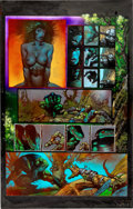 Original Comic Art:Panel Pages, Simon Bisley and Kevin Eastman Melting Pot Book Two Page 27Original Art (Kitchen Sink, 1994)....
