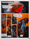 "Original Comic Art:Panel Pages, Simon Bisley 2000 AD Program #696 ""Slaine: The Horned GodBook III"" Page 19 Original Art (Fleetway, 1990)...."