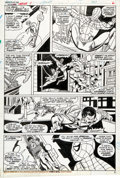 Original Comic Art:Panel Pages, Gil Kane and Mike Esposito Giant-Size Super-Heroes #1 Spider-Man Page 6 Original Art (Marvel, 1975)....