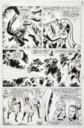 Original Comic Art:Panel Pages, Jack Kirby and Joe Sinnott Fantastic Four #65 Ronin theAccuser Page 14 Original Art (Marvel, 1967)....