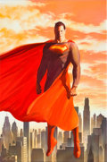 Original Comic Art:Covers, Alex Ross Superman #675A Cover Original Art (DC, 2008)....