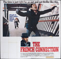 "Movie Posters:Action, The French Connection (20th Century Fox, 1971). Six Sheet (76"" X78""). Action.. ..."