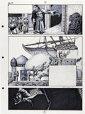 Original Comic Art:Panel Pages, Richard Corben New Tales of the Arabian Nights Page 71Original Art (Heavy Metal, 1978)....