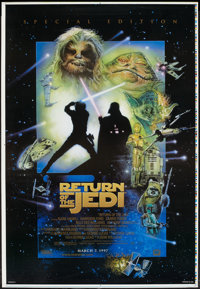 """Return of the Jedi (20th Century Fox, R-1997). Special Edition Printer's Proof One Sheet (27"""" X 41""""). Science..."""