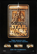 """Movie Posters:Science Fiction, Star Wars Trilogy & Other Lot (20th Century Fox, 1997). OneSheets (2) (27"""" X 40""""). DS & SS. Advance. Science Fiction.. ...(Total: 2 Items)"""